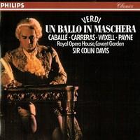 Royal Opera House, Covent Garden, Sir Colin Davis, Verdi: Un ballo in maschera