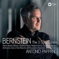 Antonio Pappano, Bernstein: The 3 Symphonies