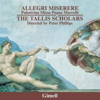 The Tallis Scholars, Allegri: Miserere / Palestrina: Missa Papae Marcelli