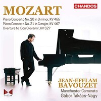 Jean-Efflam Bavouzet, Mozart: Piano Concertos, Vol. 4