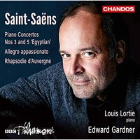 Louis Lortie, BBC Philharmonic Orchestra & Edward Gardner, Saint-Saens: Piano Concertos Nos. 3, 5 & Other Works