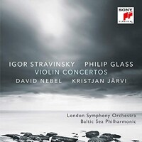 David Nebel, Stravinsky & Glass: Violin Concertos