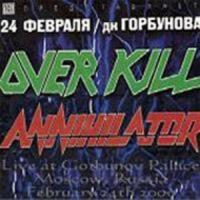 Annihilator, 2000-02-24: Moscow, Russia