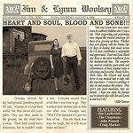 Jim & Lynna Woolsey, Heart and Soul, Blood and Bone