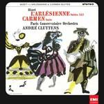 Andre Cluytens & Paris Conservatoire Orchestra, Bizet: L'Arlesienne Suite 1&2, Carmen Suite