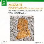 The Amsterdam Baroque Orchestra & Ton Koopman, Mozart: Divertimenti KV 136/137/138/251