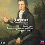 Steven Lubin & The Academy of Ancient Music & Christopher Hogwood, Beethoven: Piano Concertos & Sonatas