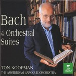Ton Koopman, Bach - 4 Orchestral Suites (with The Amsterdam Baroque Orchestra)