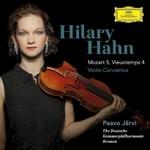 Hilary Hahn, Mozart 5, Vieuxtemps 4 - Violin Concertos