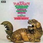 London Philharmonic Orchestra, John Alldis Choir, Zubin Mehta, Puccini: Turandot