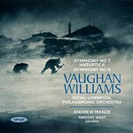Andrew Manze & Royal Liverpool Philharmonic Orchestra, Vaughan Williams: Symphony No. 7 'Antartica', Symphony No. 9
