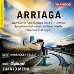 Berit Norbakken Solset, BBC Philharmonic, Juanjo Mena, Arriaga: Overtures, Herminie & Other Works