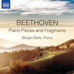 Sergio Gallo, Beethoven: Piano Pieces and Fragments