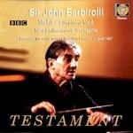 Sir John Barbirolli, New Philharmonia Orchestra, Mahler: Symphony No. 6
