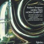 Richard Watkins, Pauline Lowbury, Christopher Green-Armytage, Caroline Dearnley, Simpson: Horn Trio / Horn Quartet