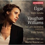 Jennifer Pike & Martin Roscoe, Elgar & Vaughan Williams: Violin Sonata