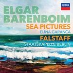 Daniel Barenboim & Elina Garanca & Staatskapelle Berlin, Elgar: Sea Pictures. Falstaff