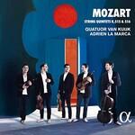 Quatuor Van Kuijk, Adrien La Marca, Mozart: String Quintets K. 515 & 516