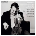 Frank Peter Zimmermann, Martinu: Violin Concertos 1 & 2 / Bartok: Sonata for Solo Violin