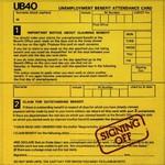 UB40, Signing Off
