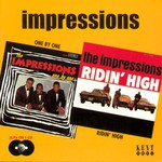 The Impressions, One by One / Ridin' High