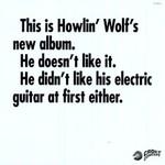 Howlin' Wolf, The Howlin' Wolf Album