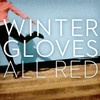 Winter Gloves, All Red
