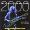 Julian Cope, An Audience With the Cope