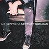 Allison Weiss, Say What You Mean